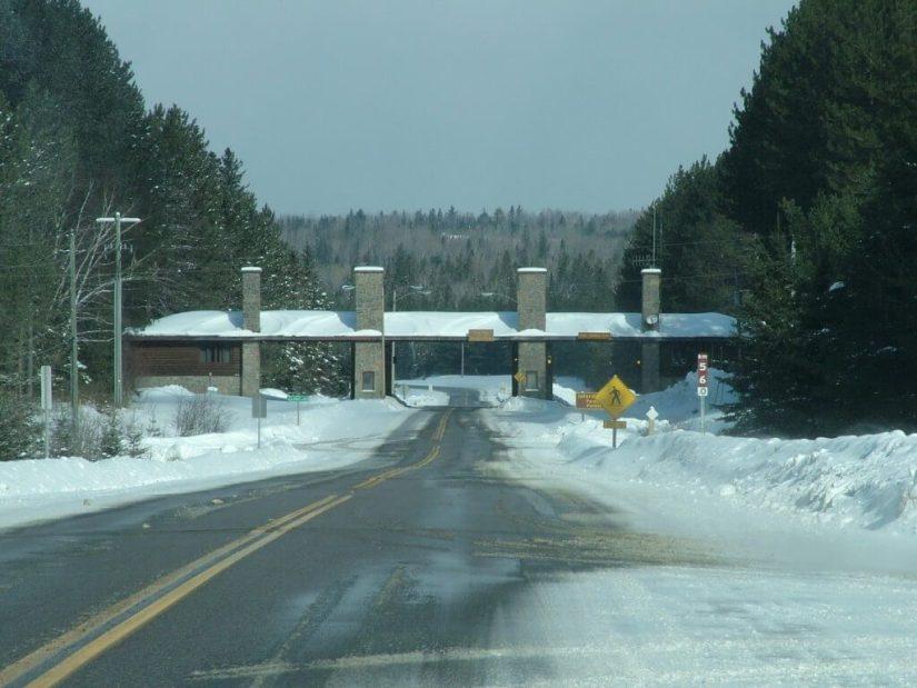 East Gate, Algonquin Provincial Park, Ontario, Canada