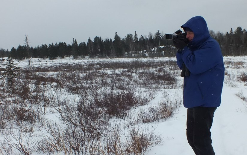 bob at spruce bog, Algonquin Provincial Park - Ontario