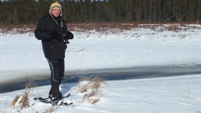 Bob in Spruce bog in Algonquin Provincial Park