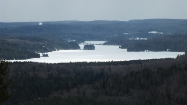 Photo of Fraser Lake and its little island in Algonquin Park - Ontario