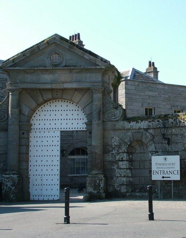 Powerscourt entrance - Ireland