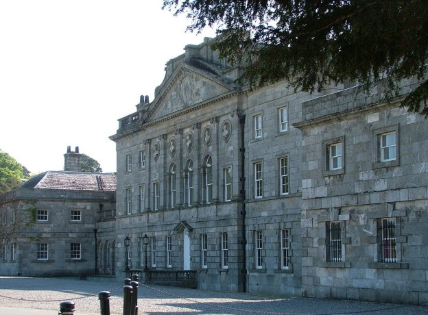 Powerscourt main building - Ireland