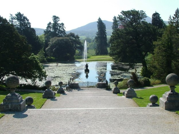 Triton Lake - Powerscourt - Ireland