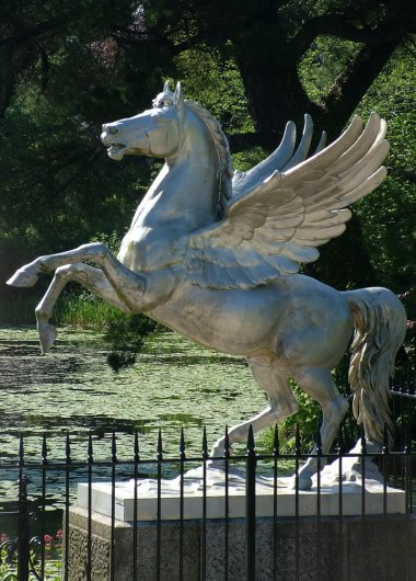 Winged Horse statue - Powerscourt - Ireland