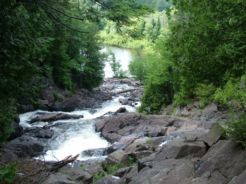 ragged falls in the summer of 2012