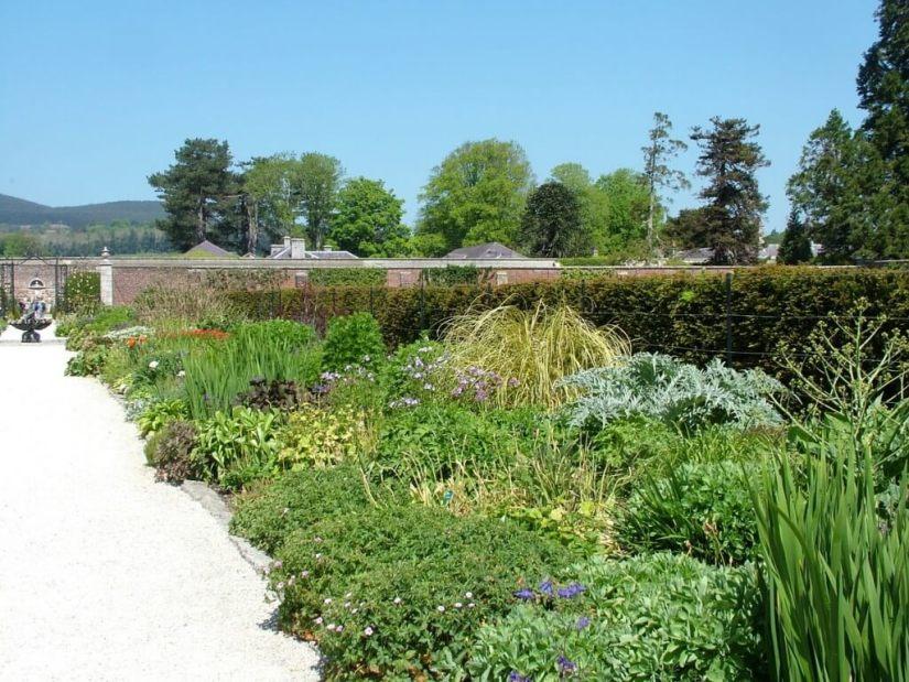 wall garden - inside the walls - powerscourt - wicklow - ireland