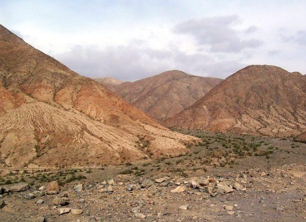 Highway 26, east of Nazca Peru