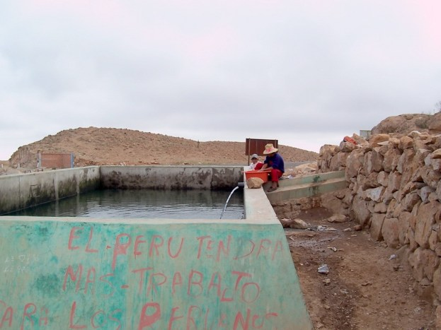 Reservoir, Nuevo Santiago, Peru
