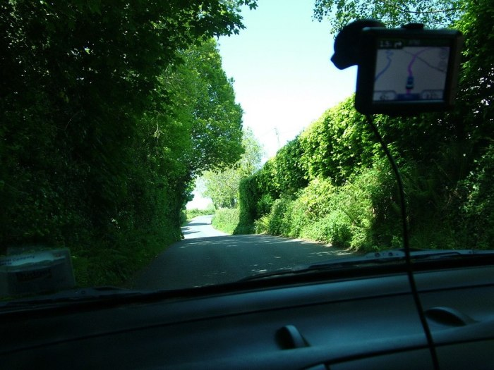country road - Enniskerry - Wicklow - Ireland