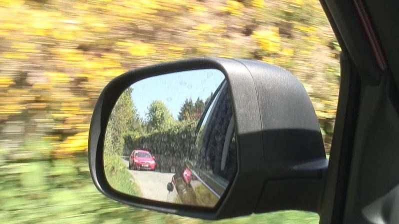 driving in an irish blur of yellow - Enniskerry - Ireland