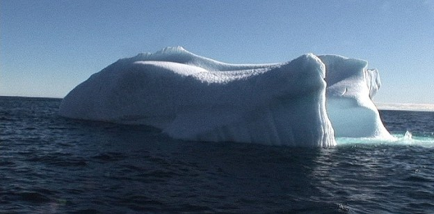 Iceberg off Kekerten Island in the Cumberland Sound, off Baffin Island, Nunavut, Canada