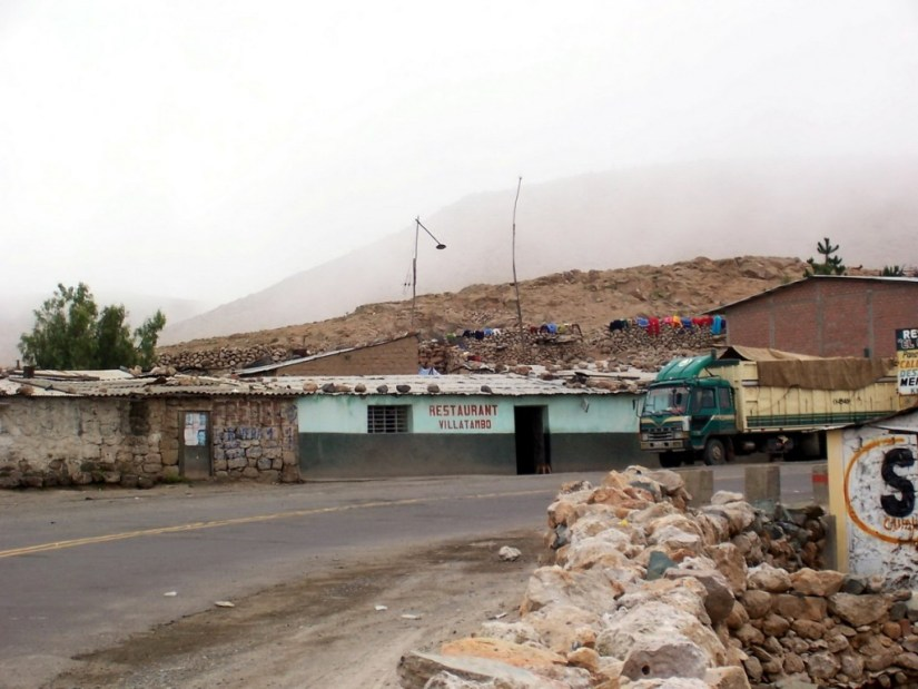 roadside restaurant highway 26, Peru
