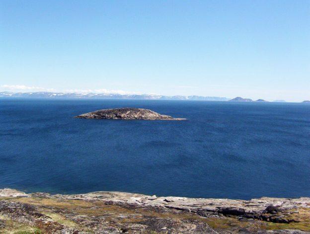 Small island off Kekerten Island in the Cumberland Sound, off Baffin Island, Nunavut, Canada