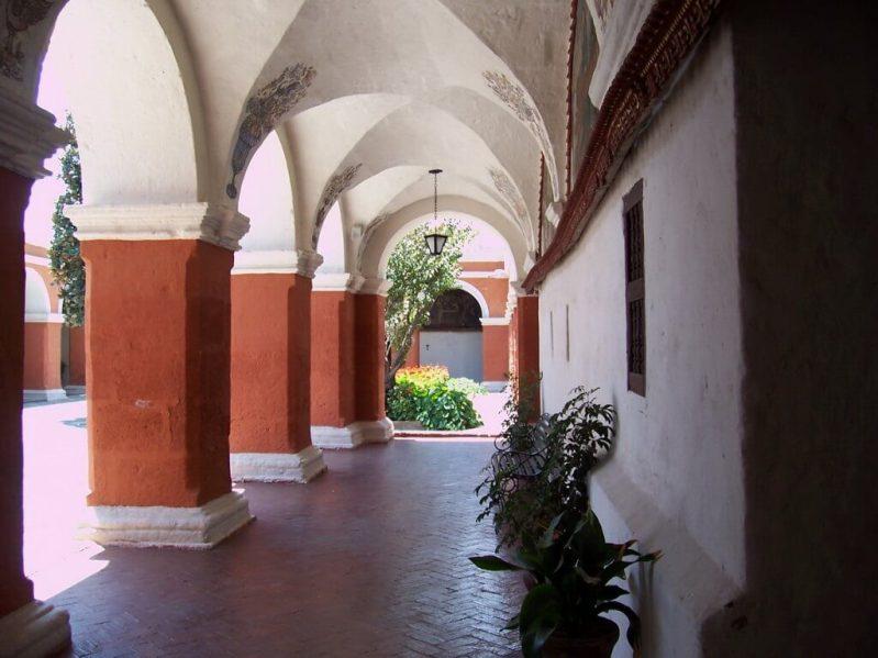Main Cloister, Santa Catalina Convent, Arequipa, Peru