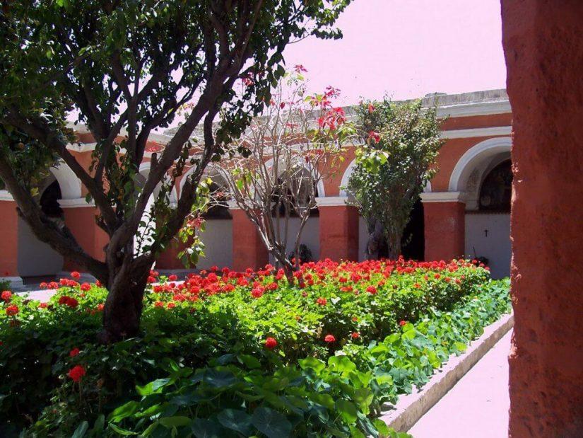 Main Cloister, Santa Catalina De Siena Convent, Arequipa, Peru