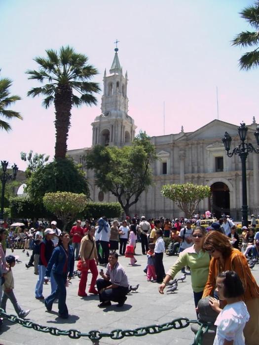 Main Square, Arequipa, Peru