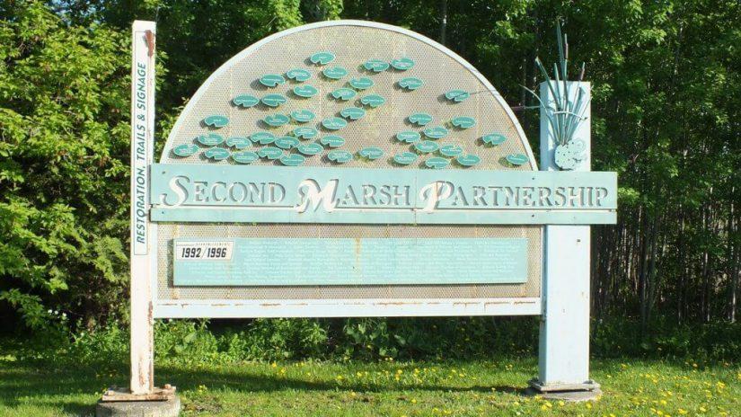 Second Marsh Sign - Oshawa - Ontario