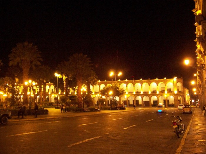 arequipa by night - peru