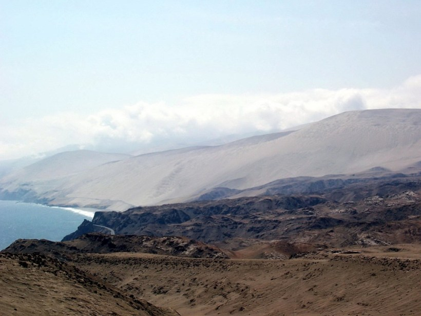south coastline of peru