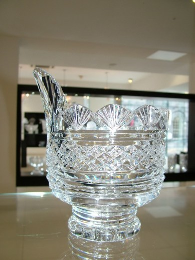 crystal bowl - waterford crystal - ireland