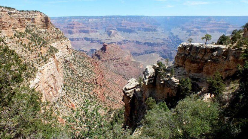 Grand Canyon view of Battleship Rock