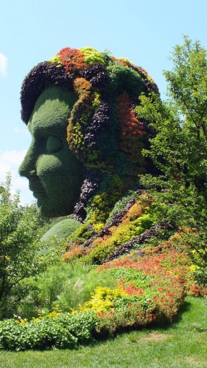 Mother Earth (profile) - Mosaiculture - Montreal Botancial Gardens