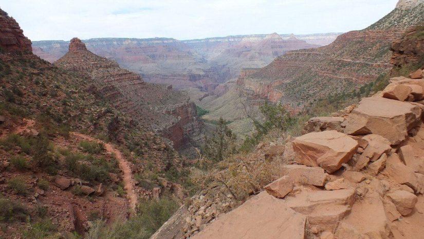 bright angel trail, grand canyon, arizona