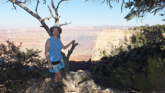 jean on the north rim of grand canyon