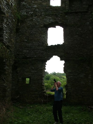 Coppinger's Court ruins, bob films ruins, county cork, Ireland