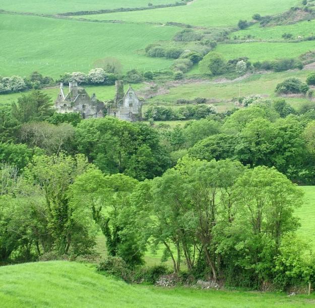 Coppinger's Court ruins, county cork, Ireland