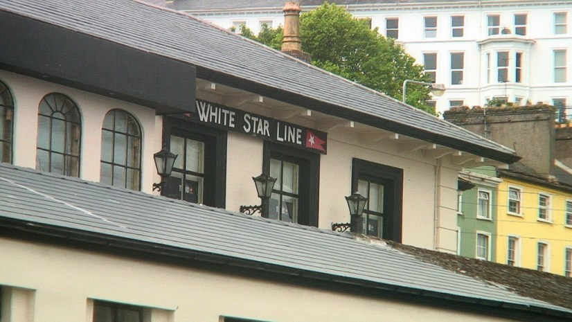 White Star Line building rooftop, cobh town, county cork, ireland