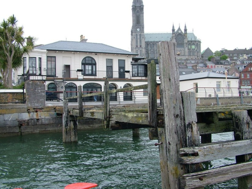 White Star Line's titanic departure dock, titanic experience, cobh town, county cork, ireland