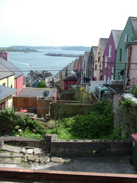 row house, cobh, county cork, ireland