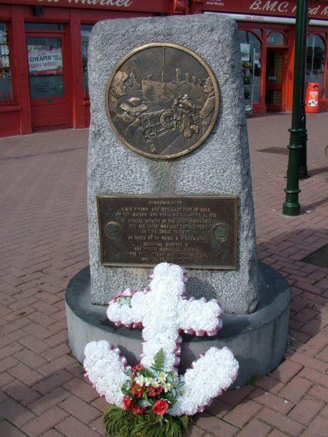 titanic memorial, cobh, county cork, ireland