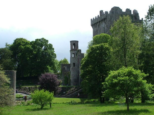 An image of the Blarney Castle keep and tower in County Cork, Ireland.  Photography by Frame To Frame - Bob and Jean.