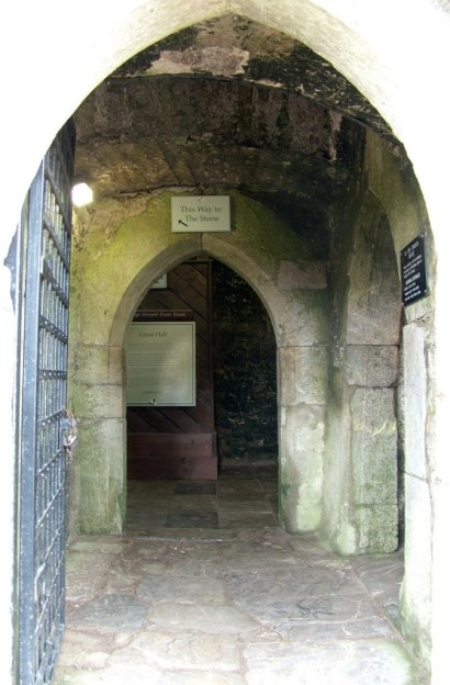 An image of a stone hallway inside Blarney Castle near Cork in Ireland. Photography by Frame To Frame - Bob and Jean.