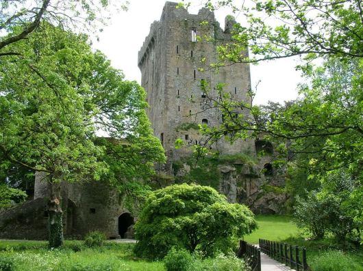north wall of blarney castle, county cork, ireland