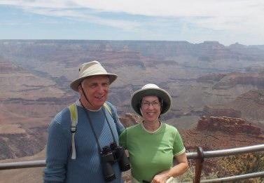 bob and jean grand canyon