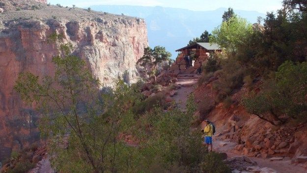 three mile resthouse bright angel trail 13