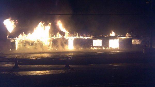 timber trail fire, oxtongue lake