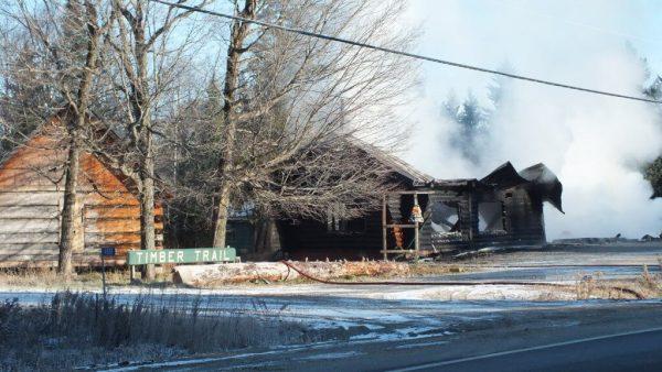 timber trail fire, oxtongue lake 12