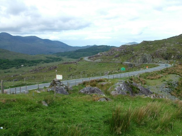 hilly route caha mountains, ireland 18