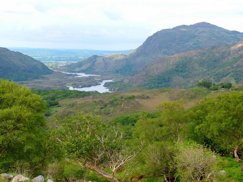 ladies' view, killarney lakes, ireland
