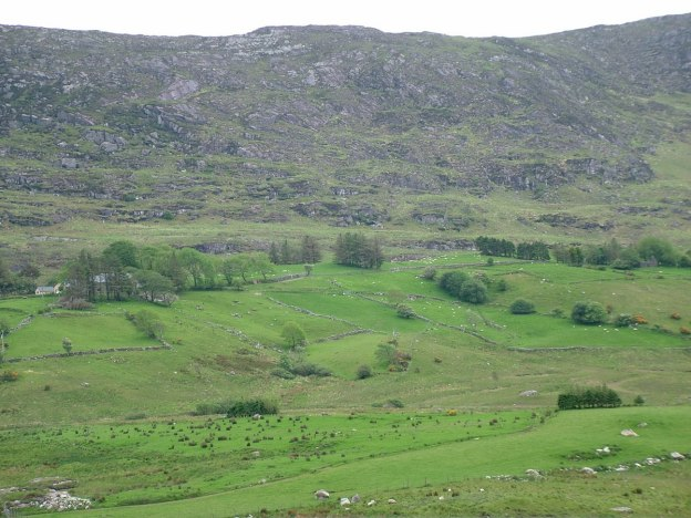 rocky hills caha mountains, ireland 10