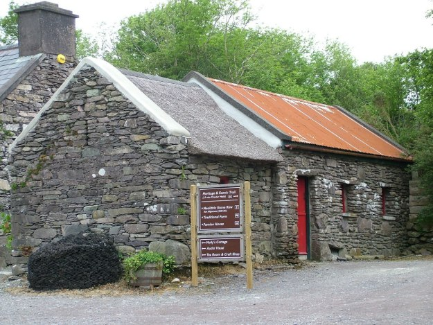 stone buildings, molly gallivans cottage, ireland 14