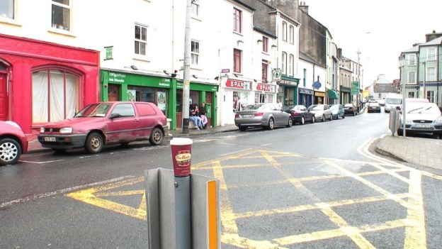 Tim Hortons coffee cup in Ennistymon, County Clare, Ireland