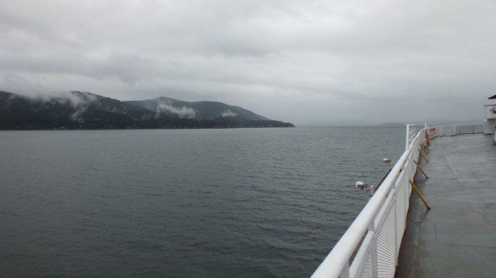 BC coastline viewed from BC ferry