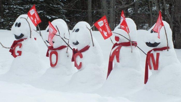 olympic snowmen - huntsville ontario 6
