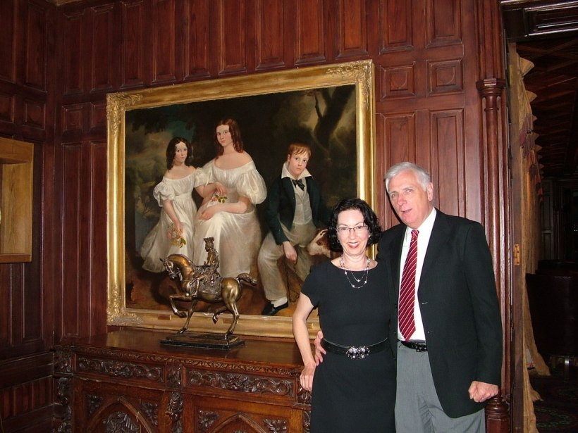 An image of Bob and Jean at Ashford Castle in County Mayo in Ireland. Photography by Frame To Frame - Bob and Jean.