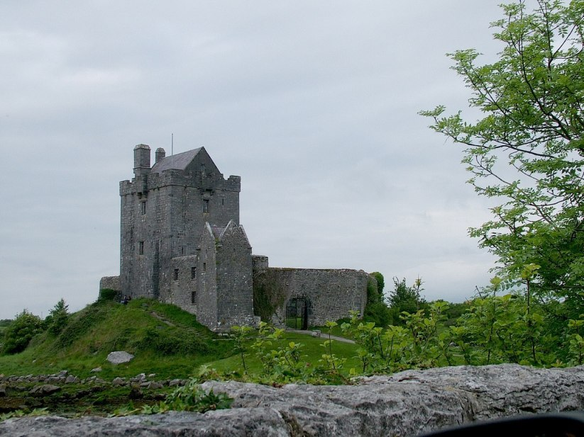 dunguaire castle the burren - ireland 2